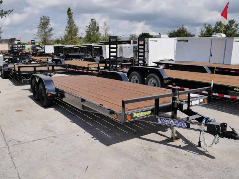 *105761* 7x20 Car Hauler Trailer |Load Trail Trailers 7 x 20 | CH83-20T3-2B