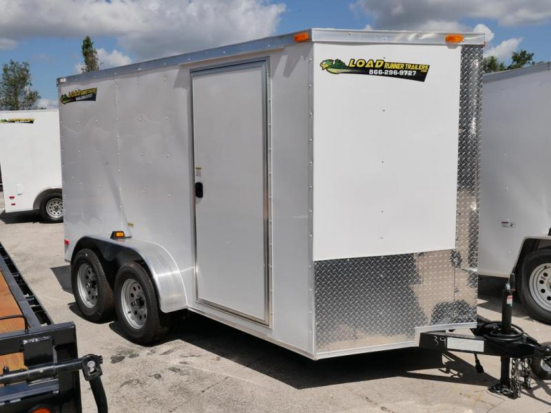*107501* 6x12 Enclosed Cargo Trailer |LRT Tandem Axle Trailers 6 x 12 | EV6-12T3-R