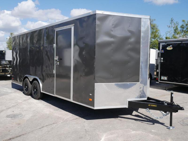 *108079* 8.5x20 Enclosed Cargo Trailer |LRT Tandem Axle Trailers 8.5 x 20 | EV8.5-20T3-R