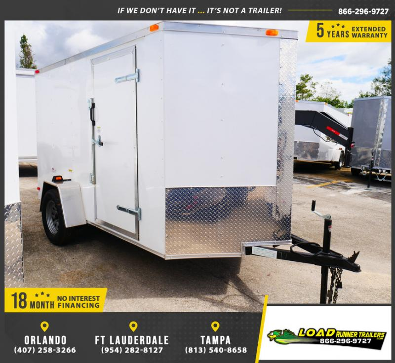 *E3-BB* 6x10 Enclosed  Trailer Cargo Trailers 6 x 10 | EV6-10S3-R