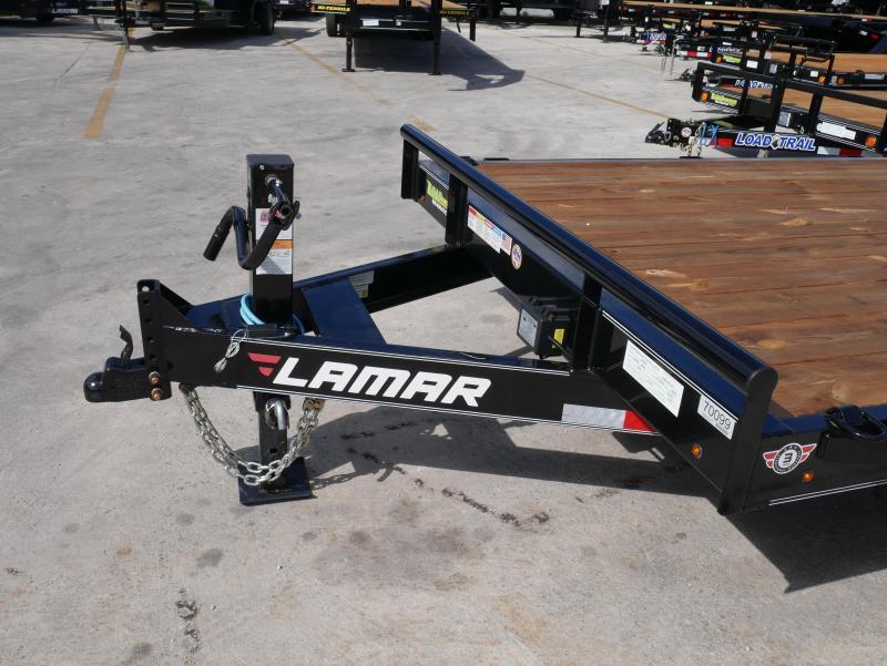 *EQ40* 7x20 7 TON Equipment & Car Hauler Trailer |LR Trailers 7 x 20 | EQ83-20T7-KR