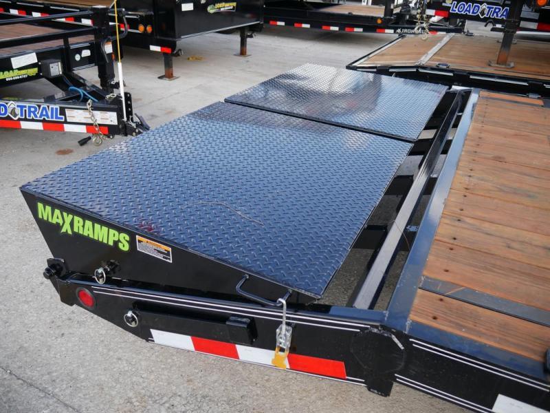 *107252* 8.5x24 Load Trail Equipment Trailer |LRT Tandem Axle Trailers 8.5 x 24 | EQ102-24T7-MPD/DOF