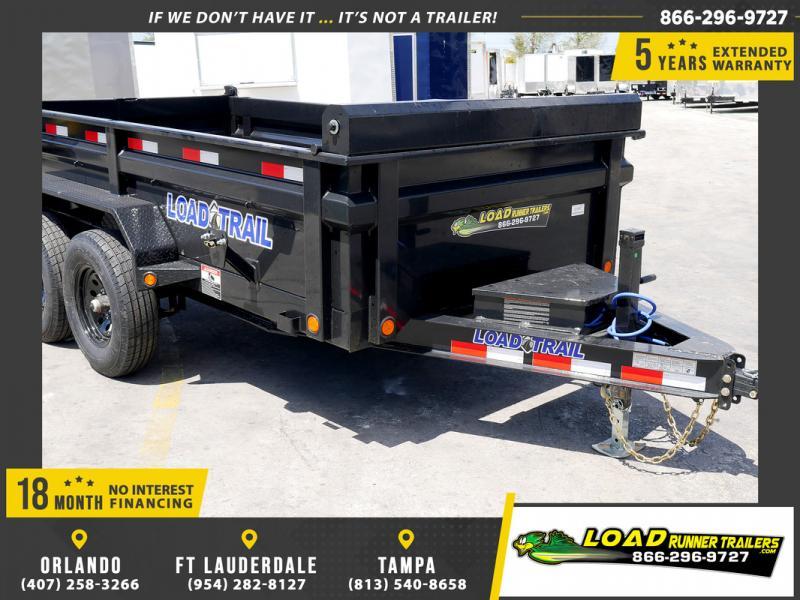 *109153* 6x12 Dump Trailer |LRT Tandem Axle Trailers 6 x 12
