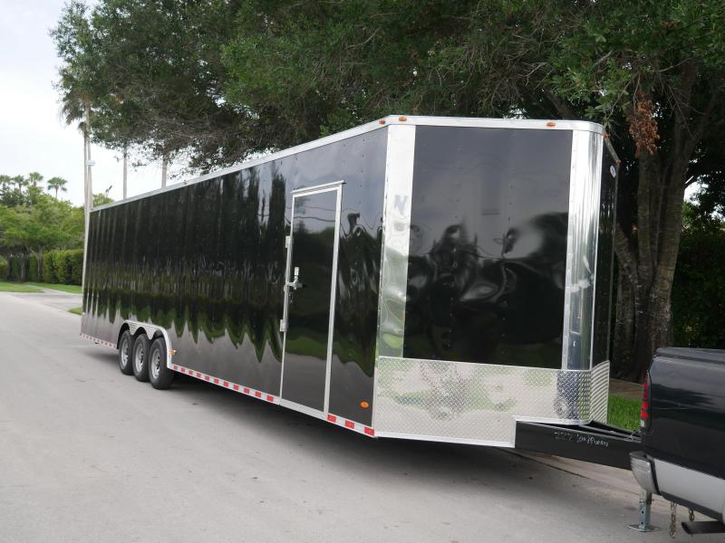 *E20* 8.5x36 Enclosed Cargo Trailer Car Hauler Trailers 8.5 x 36 | EV8.5-36TT5-R