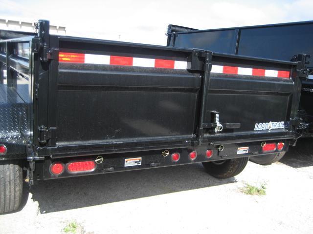 *DB15* 6x12 5k Load Trail Dump Trailer Tandem Axle Trailers 6 x 12   D72-12T5-24S