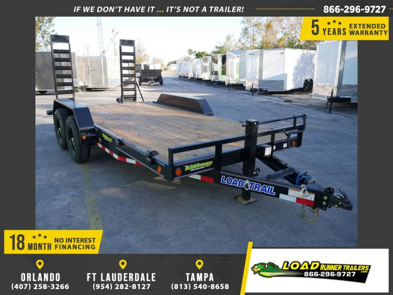 *108475* 7x16 Equipment Trailer |LRT Tandem Axle Trailers 7 x 16