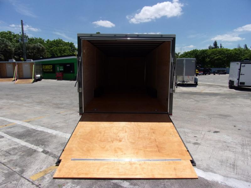 *109013* 8.5x24 Enclosed Cargo Trailer |LRT Tandem Axle Trailers 8.5 x 24