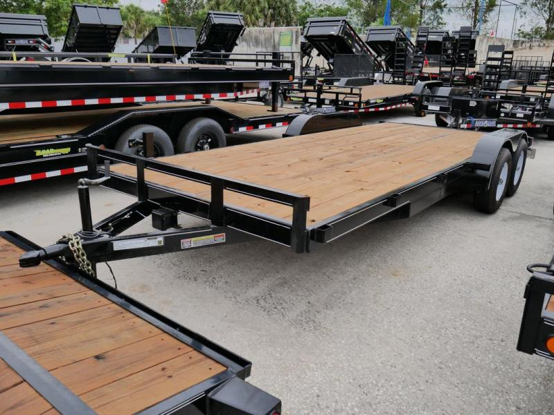 *107451* 7x20 Car Trailer |LRT Tandem Axle Trailers 7 x 20 | CH82-20T5-2B