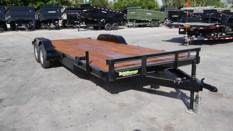 *108654* 7x20 Car Trailer |LRT Tandem Axle Trailers 7 x 20
