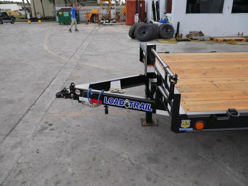 *EQ13* 7x18 7 TON Equipment & Car Hauler Trailer |LR Trailers 7 x 18 | EQ83-18T7-KR