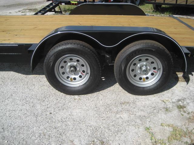 *CH10* 7x16 7K Car Hauler Trailer W/Brakes LR Trailers & Haulers 7 x 16 | CH82-16T3-1B