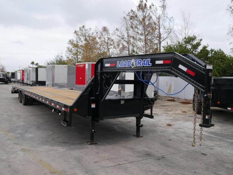 *FG78* 8.5x40 12 TON Deck Over Gooseneck Trailer  Flatbed Trailers 8.5 x 40   FG102-40T12-LP/MPD