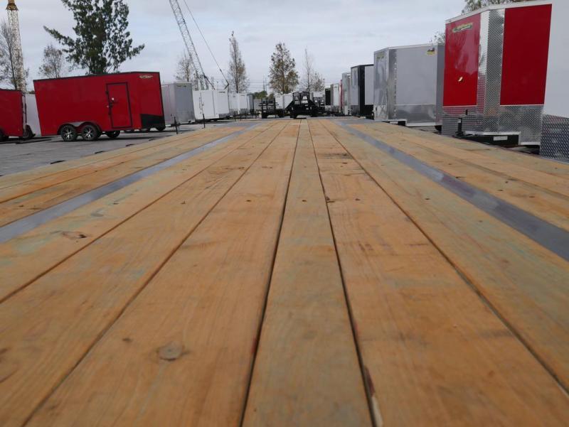 *FG78* 8.5x40 12 TON Deck Over Gooseneck Trailer  Flatbed Trailers 8.5 x 40   FG102-40T12-FF