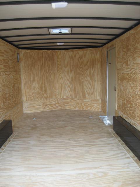 *E10* 8.5x16 Enclosed Cargo Trailer Car Hauler 8.5 x 16 | EV8.5-16T3-R