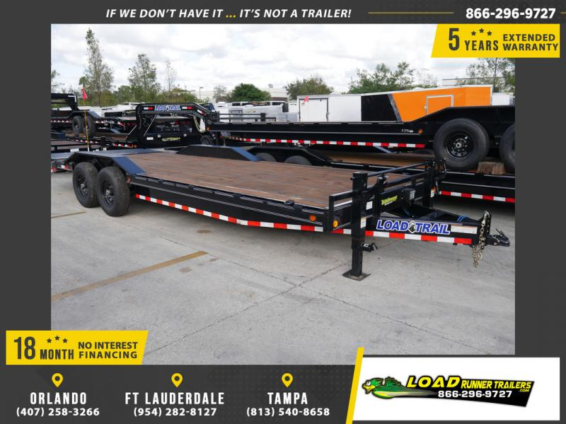 *107252* 8.5x24 Load Trail Equipment Trailer |LRT Tandem Axle Trailers 8.5 x 24