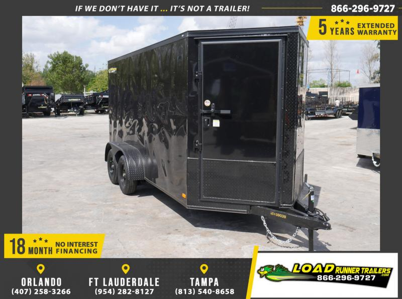 *108899* 6x14 Enclosed Cargo Trailer |LRT Tandem Axle Trailers 6 x 14