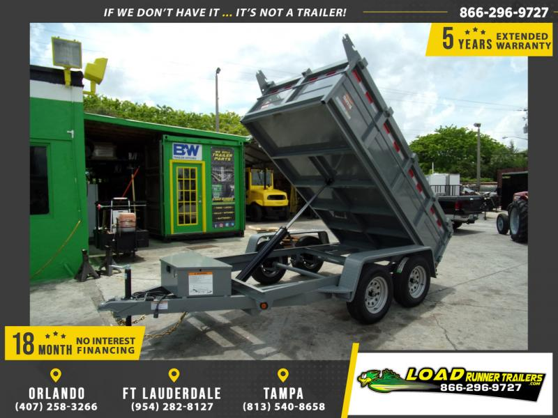 *109322* 6x12 7K Dump Trailer |LRT Dumps and Trailers 6 x 12