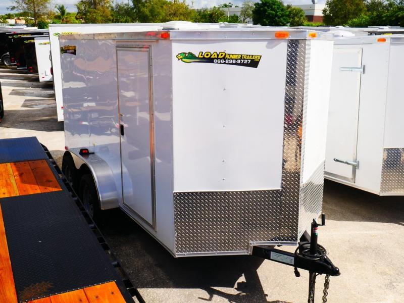 *E5-BB* 6x12 Enclosed Trailer Cargo L R Box Lawn Trailers 6 x 12 | EV6-12T3-R