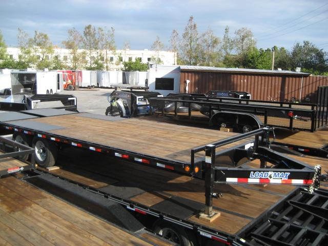 *FC38* 8.5x24 7 TON Flatbed Trailer Deck Over Trailers with Multipurpose Dove 8.5 x 24 | FC102-24T7-MPD
