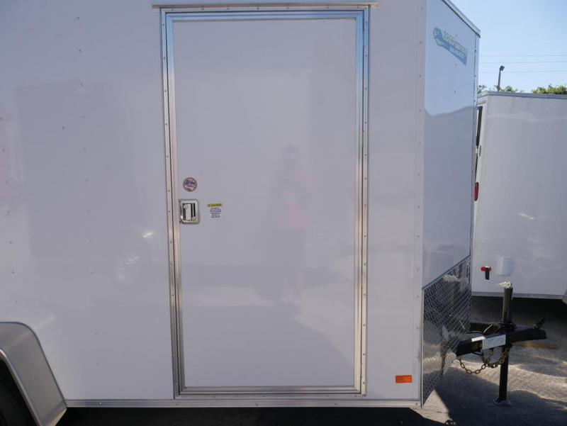 *E4J* 6x12  Enclosed Cargo Trailer LR Camping Trailers 6 x 12   EV6-12S3-R