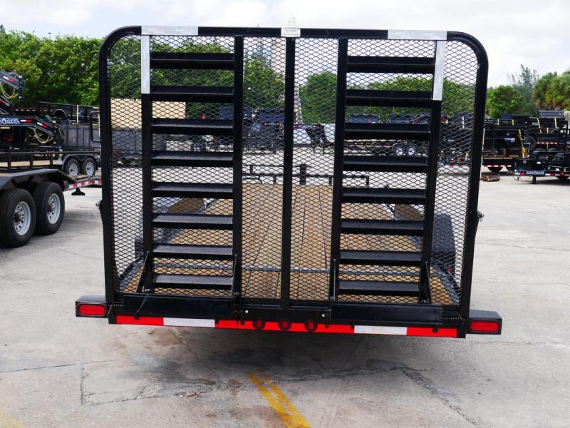 *106526* 7x20 Equipment Hauler Trailer Heavy Duty Trailers 7 x 20 | EQ83-20T7-HDG