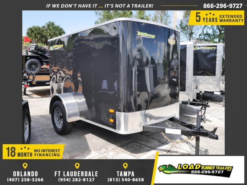 *107629* 5x8 Enclosed Cargo Trailer |LRT Haulers & Trailers 5 x 8