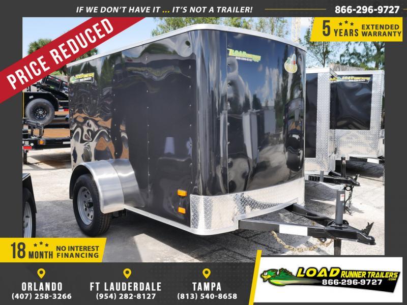 *107629* 5x8 Enclosed Cargo Trailer  LRT Haulers & Trailers 5 x 8