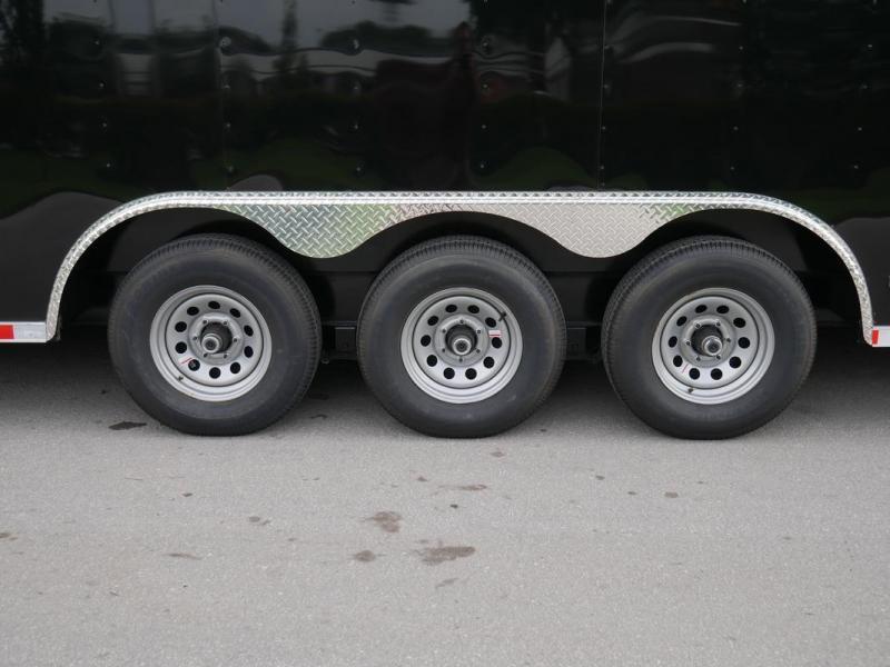 *E20* 8.5x36 Enclosed Cargo Trailer Car Hauler Trailers 8.5 x 36 | EV8.5-36TT5-R