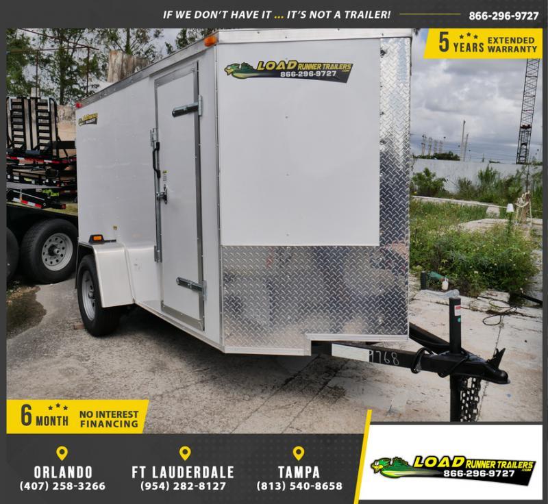 *E2-BBD* 5x10 Enclosed  Trailer Cargo Trailers 5 x 10   EV5-10S3-DD