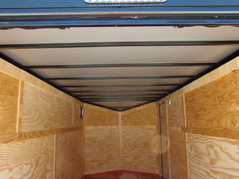 *109479* 7x16 Enclosed Cargo Trailer |LRT Tandem Axle Trailers 7 x 16