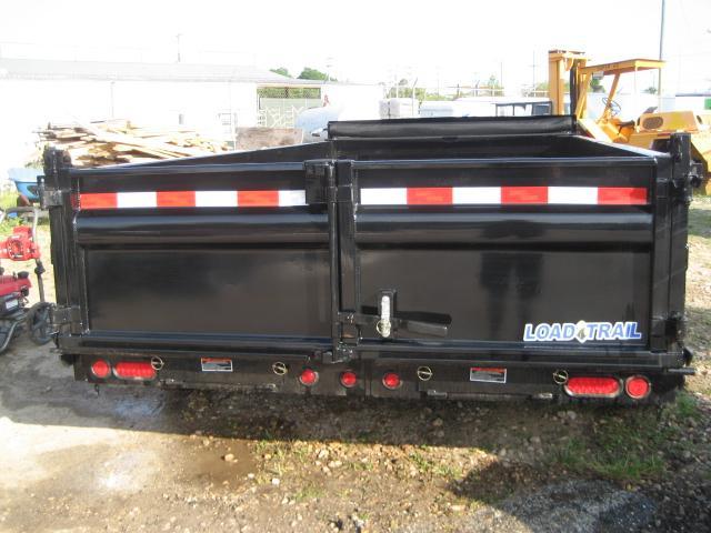 *DB23* 7x14 Dump Trailer | Trailers 7 TON Low Profile Load Trail 7 x 14 | D83-14T7-LP/24S