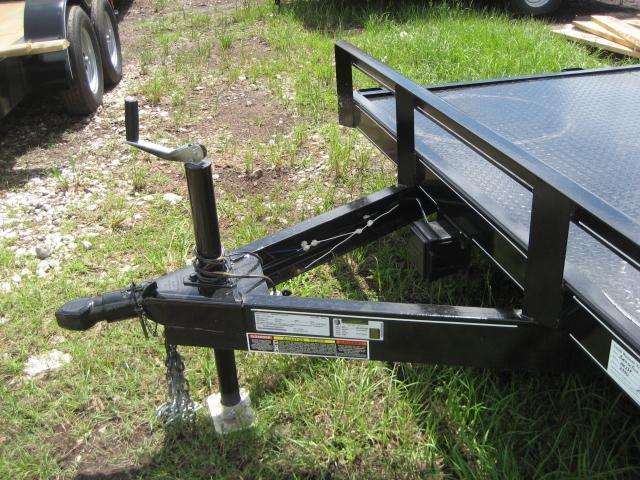 *CH17* 7x20 7K Steel Deck Car Hauler Trailer LR Haulers & Trailers 7 x 20 | CH82-20T3-1B-SD
