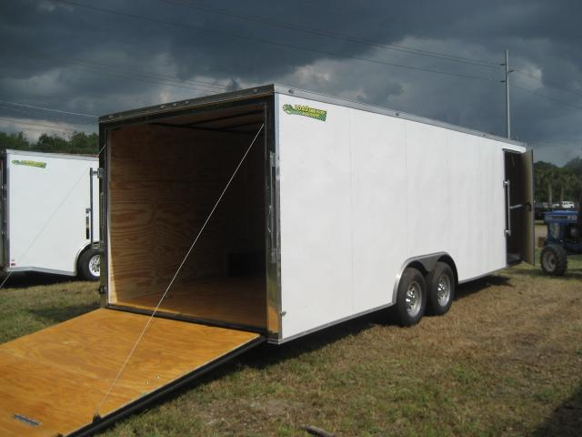 *E12B* 8.5x24 Enclosed Hauler Cargo Trailer Car Haulers 8.5 x 24 | EV8.5-24T5-R