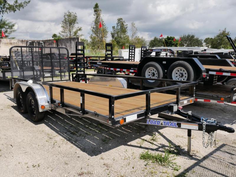 *107587* 7x16 Utility|Lawn|ATV|Multipurpose Trailer |LRT Tandem Axle Trailers 7 x 16 | U83-16T3-1B-TR