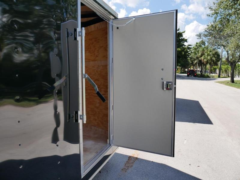 *107903* 7x14 Gold Series Enclosed Cargo Trailer |LRT Tandem Axle Trailers 7 x 14