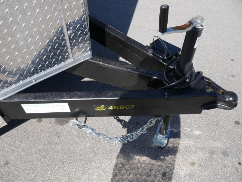 *E9C* 7x16 Enclosed Cargo Trailer Tandem Axle Hauler 7 x 16 | EV7-16T3-R
