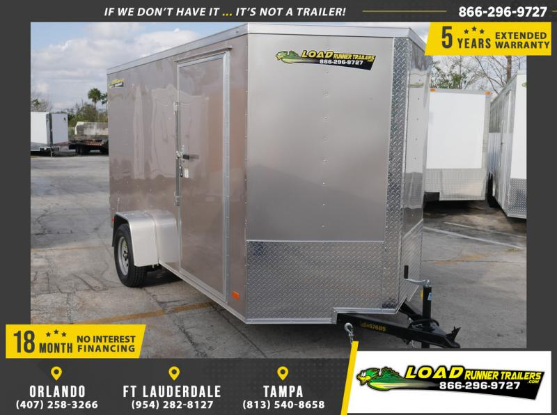 *108853* 6x12 Enclosed Cargo Trailer |LRT Haulers & Trailers 6 x 12