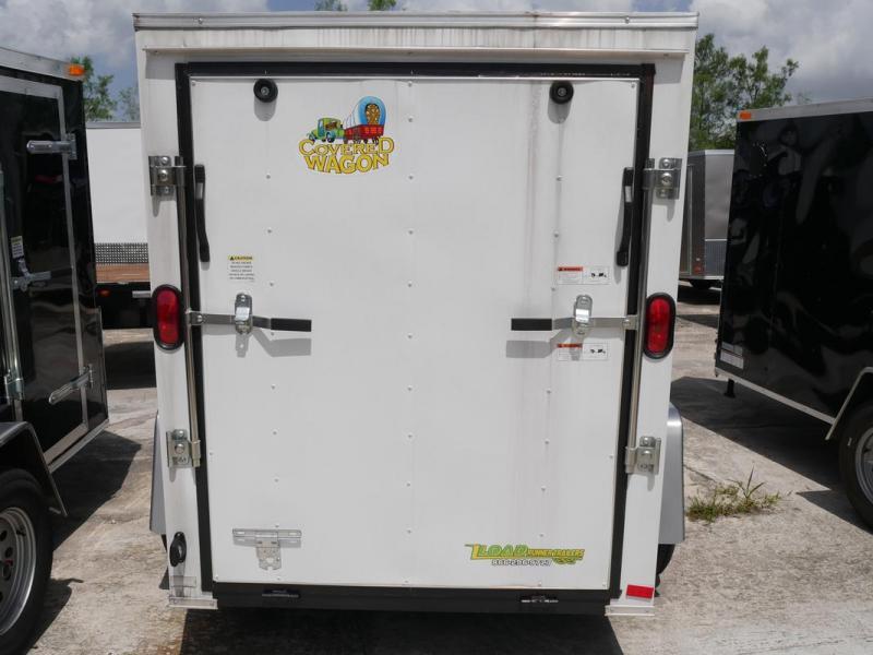 *E1C* 5x8 Enclosed  Trailer Cargo Trailers 5 x 8 | EF5-8S3-R