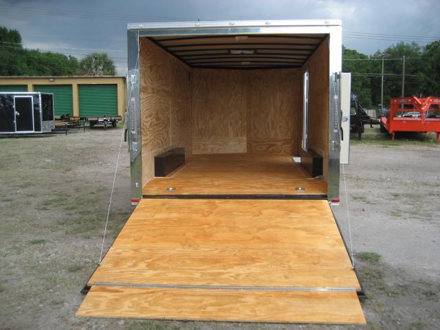 *E10B* 8.5x16 Enclosed Trailer Cargo Car Hauler 8.5 x 16 | EV8.5-16T3-R