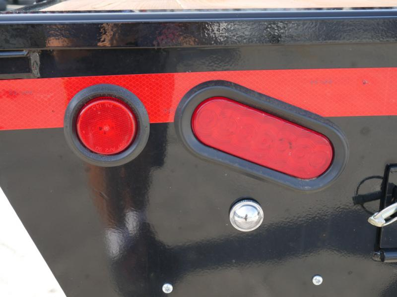 *108178* 8.5x20 Bumper Pull Flatbed Deck Over Trailer 8.5 x 20