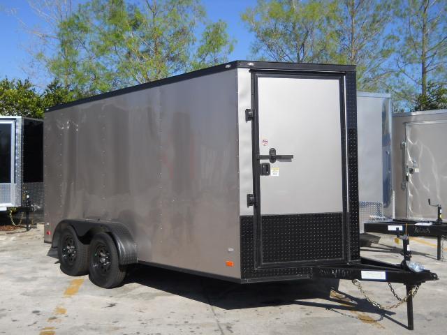 *E8B* 7x14 Enclosed Cargo Trailer Cargo Trailers Haulers 7 x 14   EV7-14T3-R