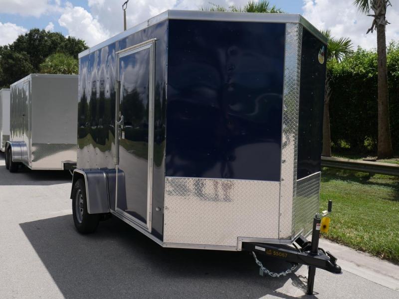 *107745* 6x10 Enclosed Cargo Trailer  LRT Haulers & Trailers 6 x 10