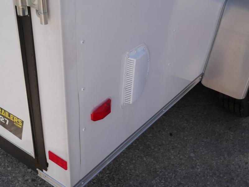 *E4I* 6x12  Enclosed Cargo Trailer LR Camping Trailers 6 x 12 | EV6-12S3-R