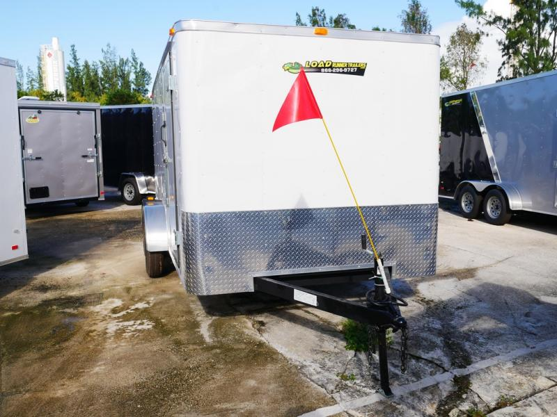 *105985* 7x14 | Enclosed Cargo Trailer Tandem Axle Trailers 7 x 14