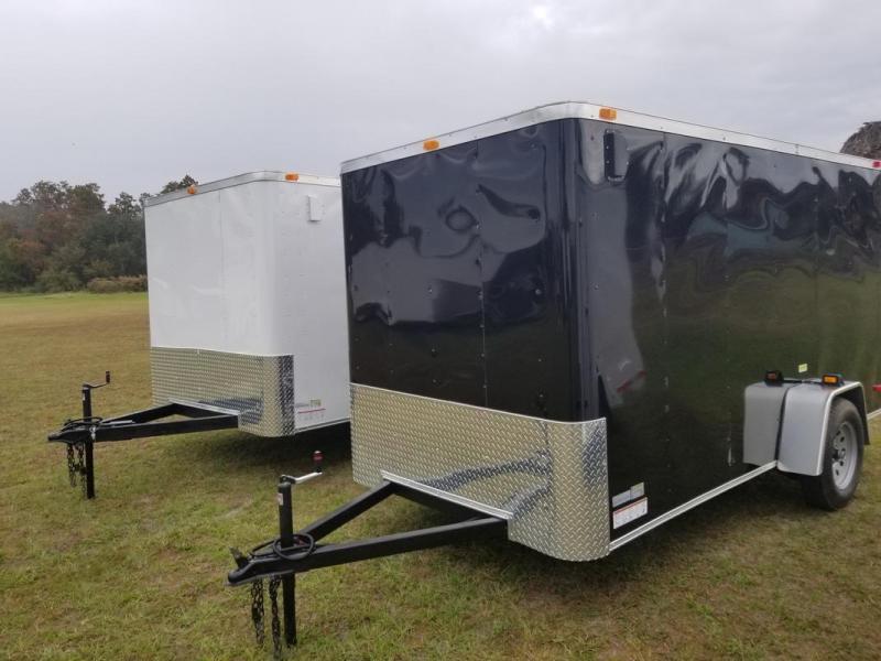 *E8-BB* 7x14 Enclosed Trailer Cargo Tandem Axle Big Band 7 x 14 | EV7-14T3-R