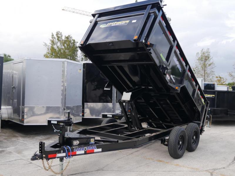 *108342* 6x14 Dump Trailer |LRT Tandem Axle Trailers 6 x 14