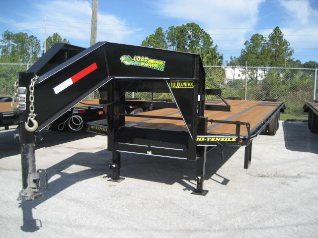 *FG13* 8.5x32 10 TON FLATBED GOOSENECK TRAILER |DECK OVER TRAILERS 8.5 x 32 | FG102-32T10-LP/FF