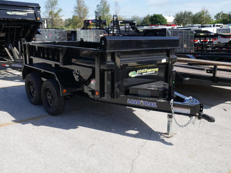 *108104* 5x10 LOAD TRAIL 7K Dump Trailer |LRT Tandem Axle Trailers 5 x 10