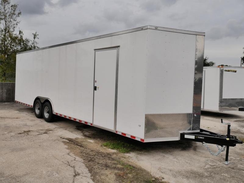 *107825* 8.5x28 Enclosed Cargo Trailer |LRT Tandem Axle Trailers 8.5 x 28 | EV8.5-28T7-R