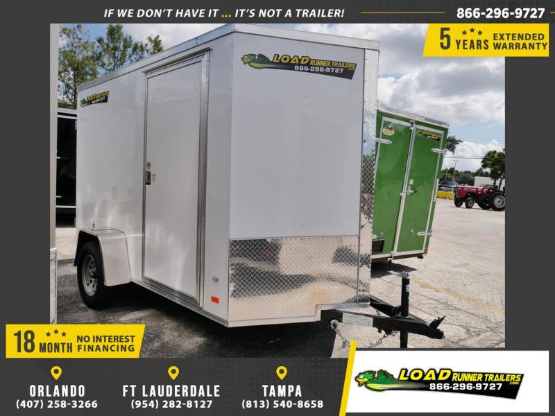 *107328* 6x10 Enclosed Cargo Trailer |LRT Haulers & Trailers 6 x 10